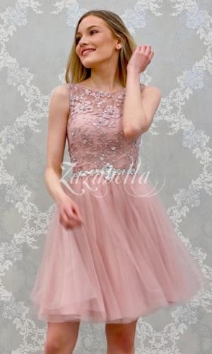 Juhlamekko H3208S dusty pink