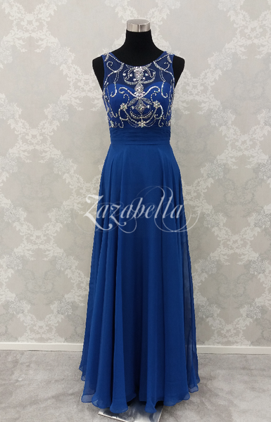 Iltapuku H3494L royal blue