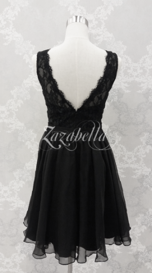 Juhlamekko H3057S black