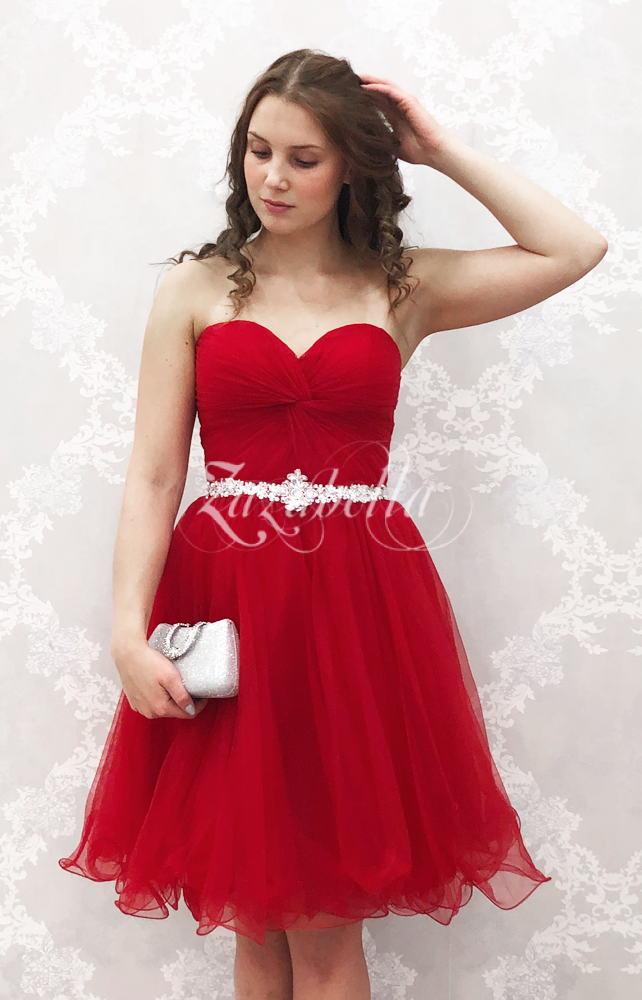 Juhlamekko H3094S dark red