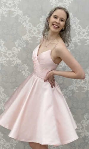 Juhlamekko H4461S pink