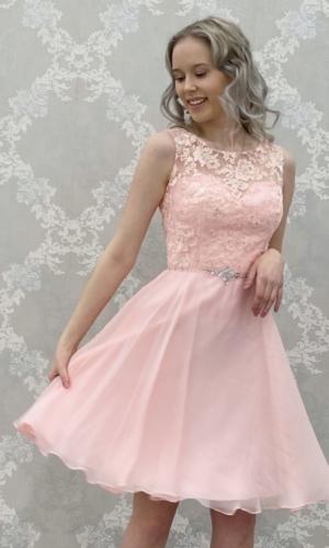 Juhlamekko H3174S pink