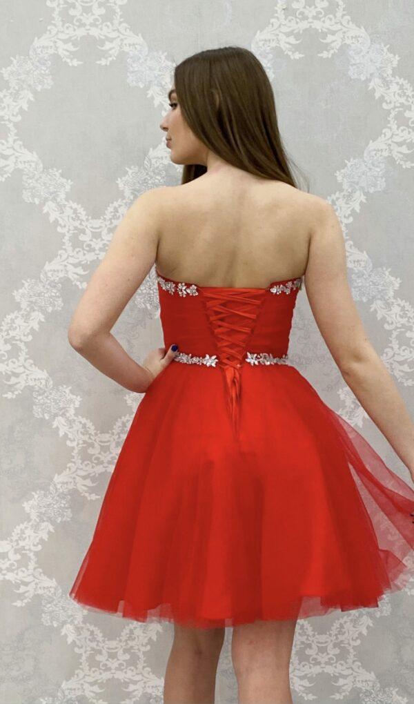 Juhlamekko H2816S red